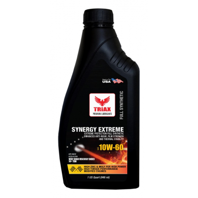 TRIAX Synergy EXTREME 10W-60 Full Synthetic