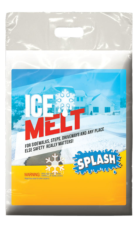 SPLASH ICE MELT Granule Degivrare 9 kg