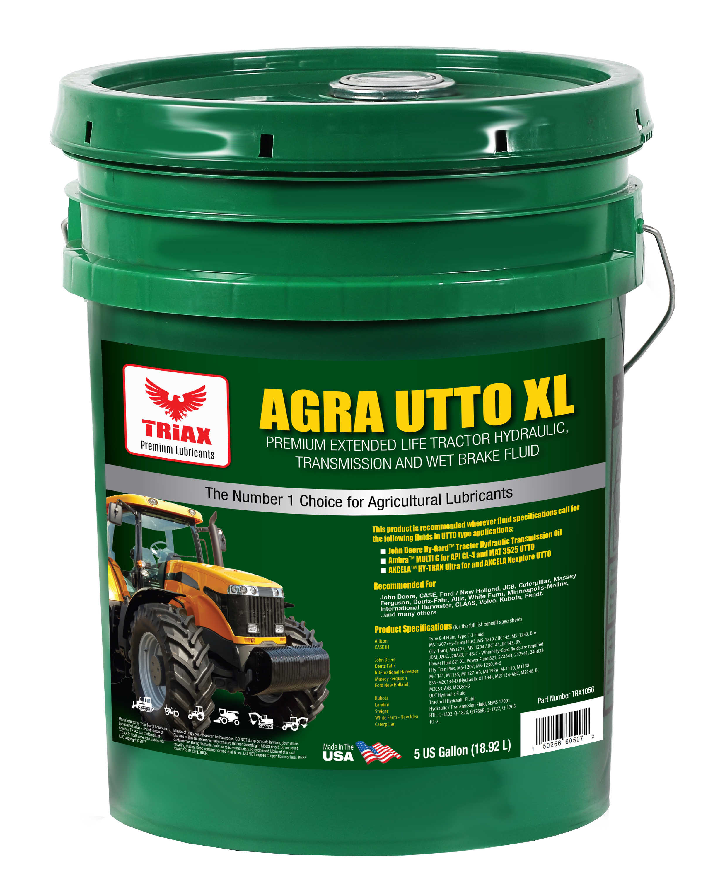 TRIAX Agra UTTO XL Tractor Hydraulic Fluid (Transmisie, Hidraulic, Wet Brake)