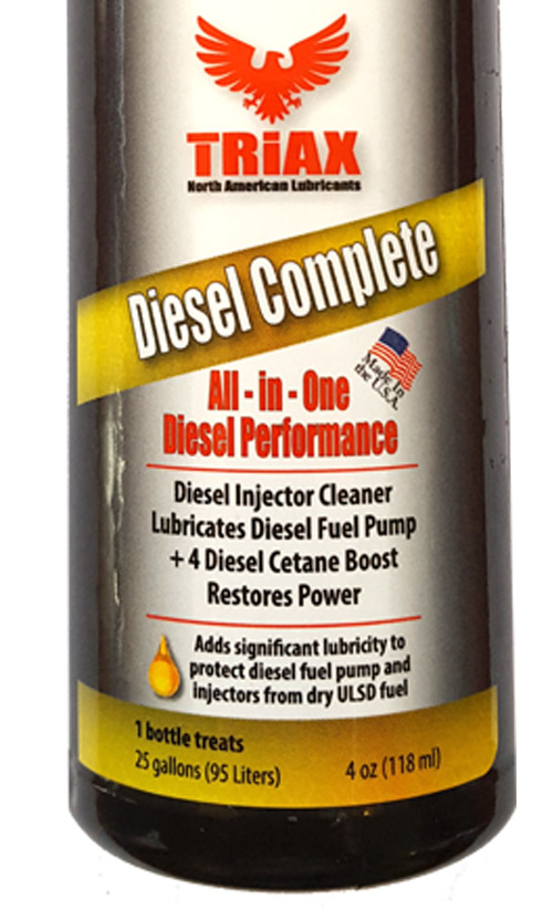 TRIAX Diesel Complete - All-in-One - Aditiv Complete Motorina - 1