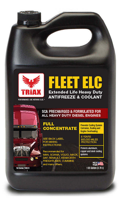 TRIAX Fleet ELC 100% Concentrat - Antigel Camioane