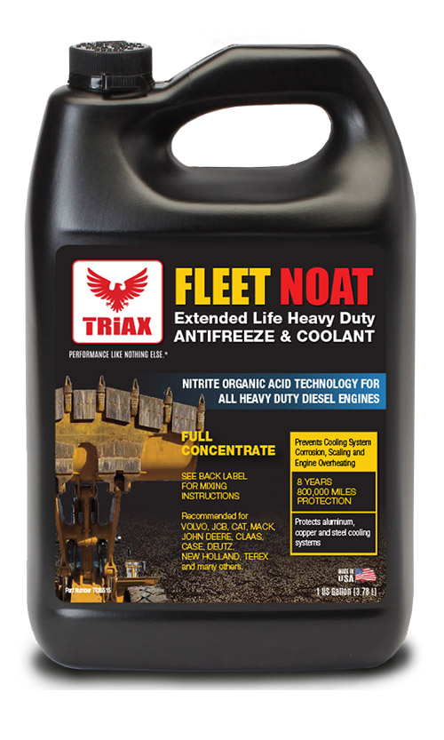 TRIAX Fleet NOAT 100% Concentrat - Antigel Utilaje