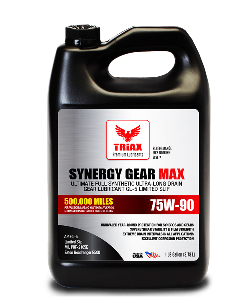 TRIAX Synergy Gear MAX 75W-90 Full Synthetic (GL-5, LS)