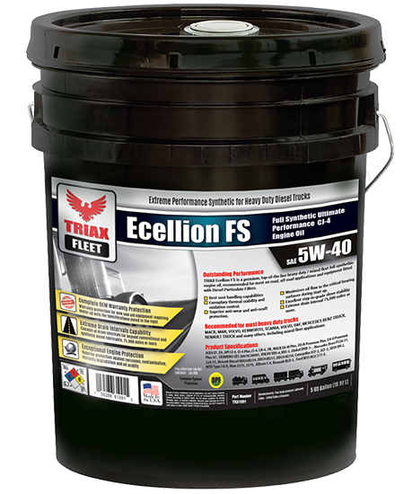 TRIAX Fleet Ecellion FS 5W-40 Full Synthetic Heavy Duty