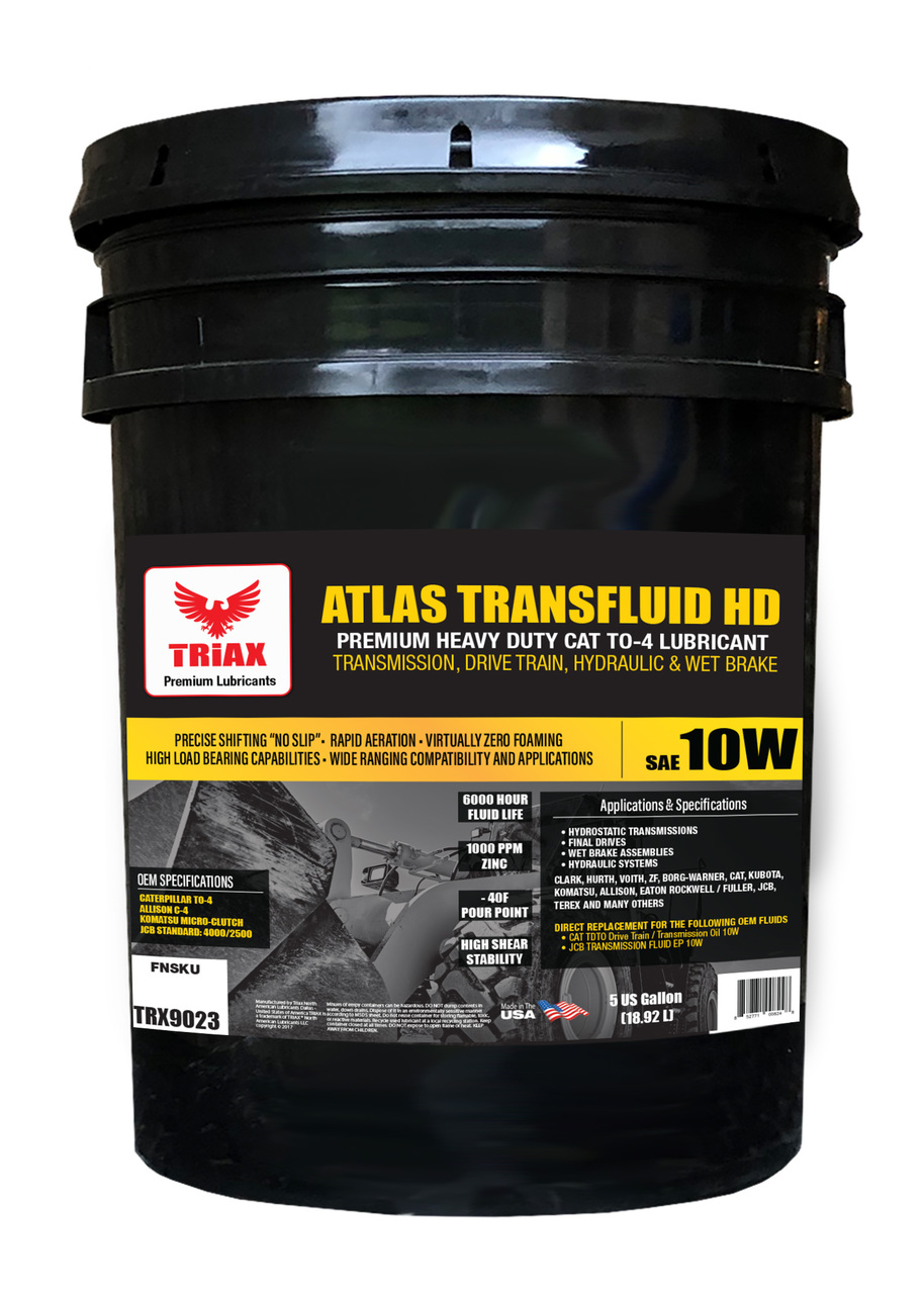 TRIAX Atlas HD Transfluid 10W TO-4 - Ulei transmisie utilaje
