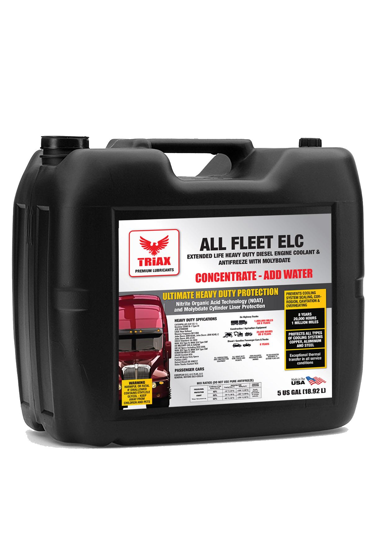 TRIAX Fleet ELC 100% Concentrat - Antigel Camioane