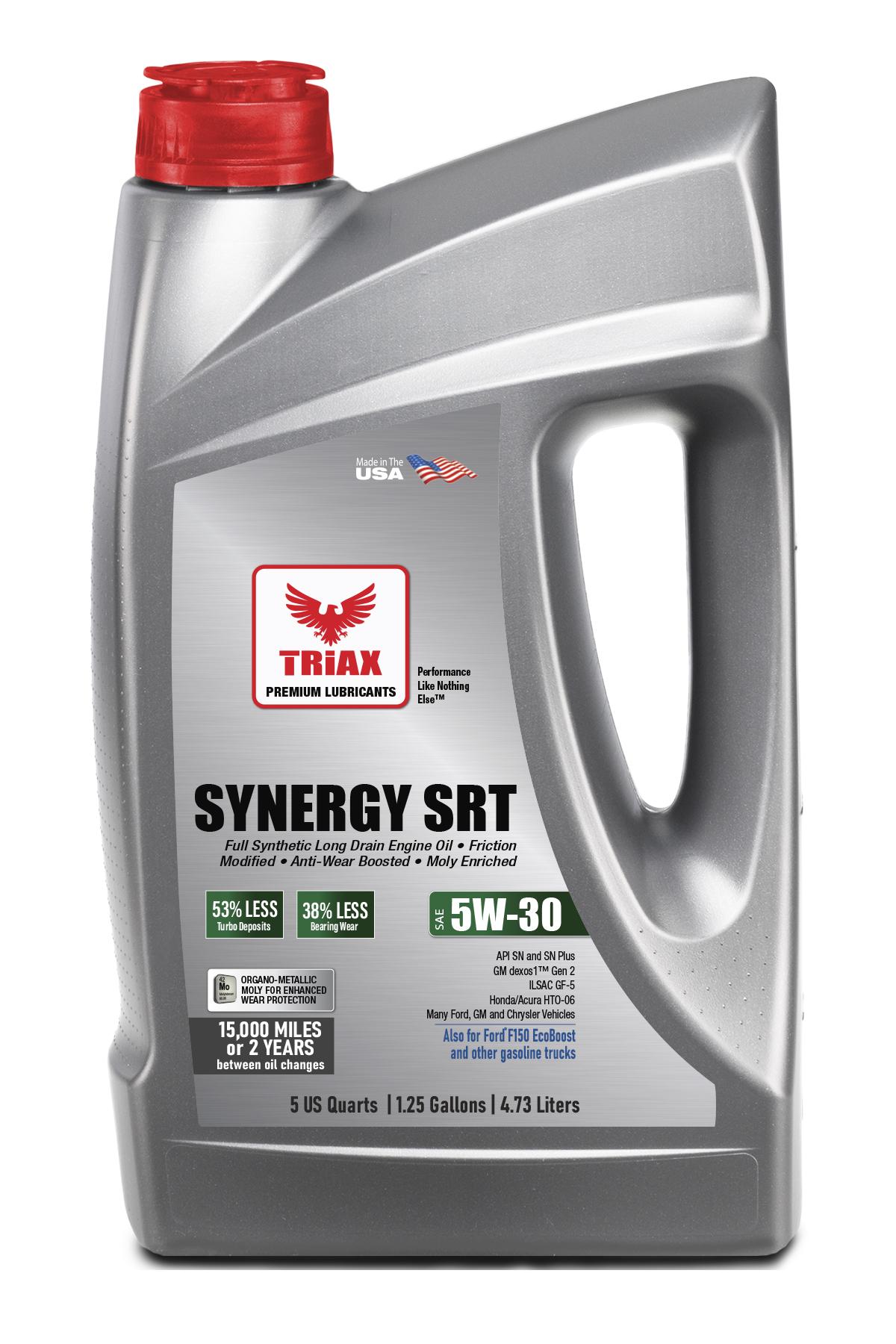 TRIAX Synergy SRT 5W-30 Full Synthetic DEXOS