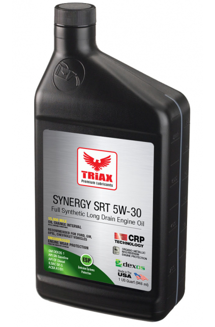 TRIAX Synergy SRT 5W-30 Full Synthetic DEXOS