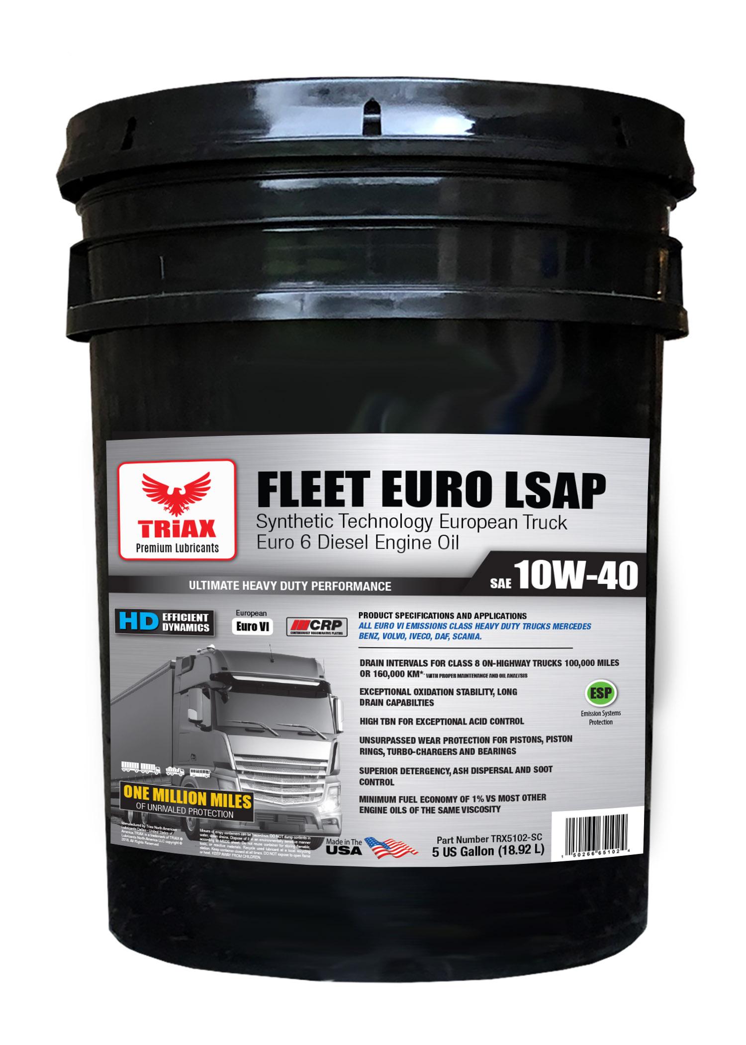 TRIAX Fleet Euro LSAP 10W-40 (Euro 6)