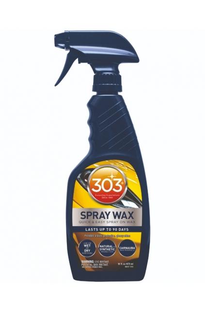 303 SPRAY WAX - Pulverizator cu ceara premium Caranuba