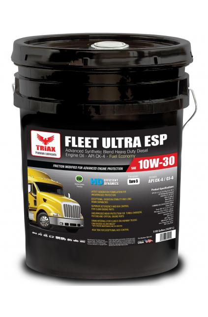 TRIAX Fleet Ultra ESP 10W-30 CK-4