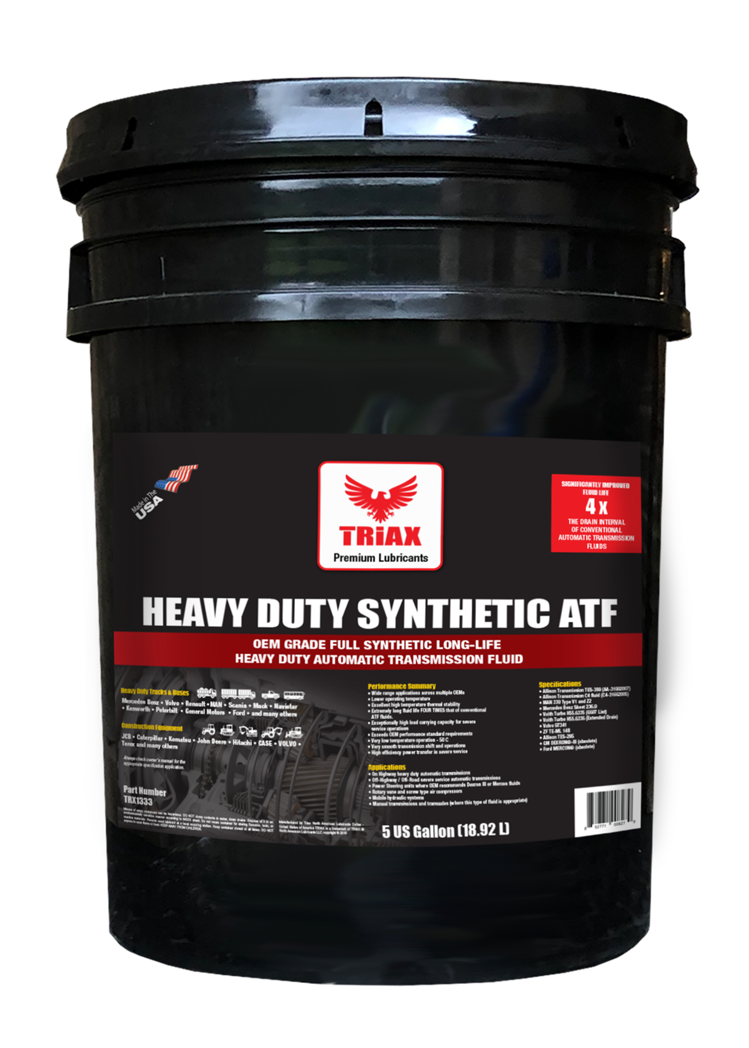 TRIAX HEAVY DUTY SYNTHETIC ATF