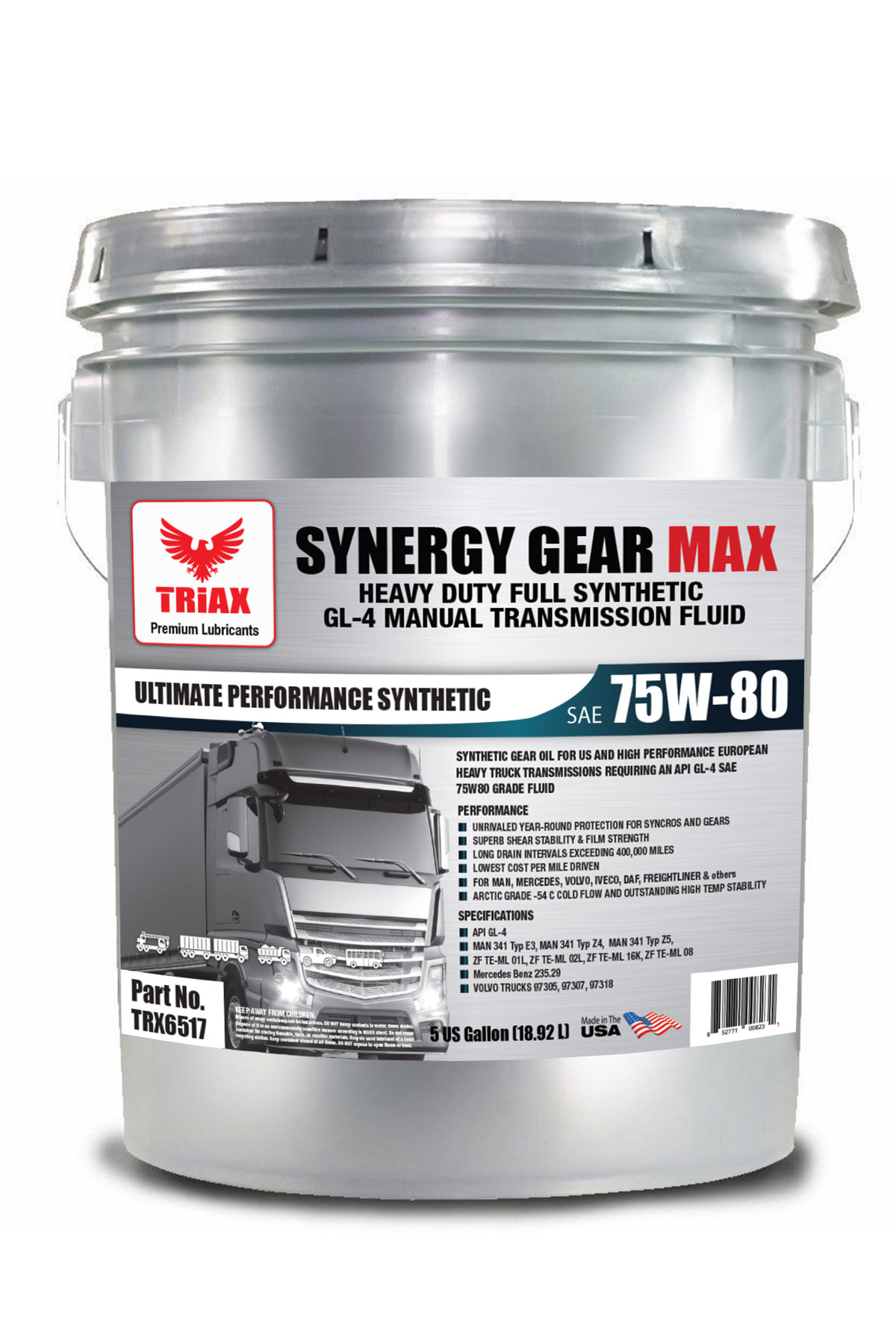 TRIAX Synergy Gear Max 75W-80 Full Sintetic