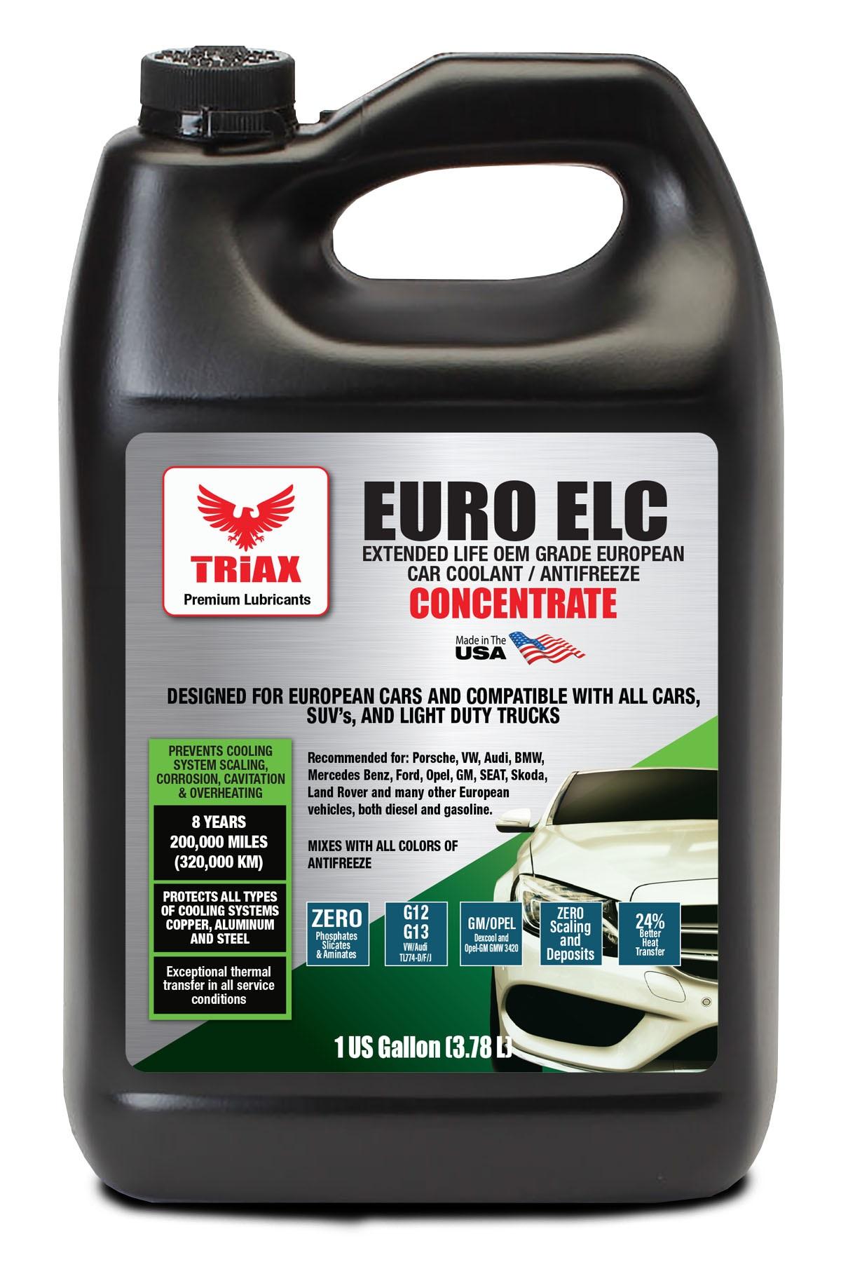 TRIAX Euro ELC Antigel 100% Concentrat G12, G13 - Autoturisme si Autoutilitare