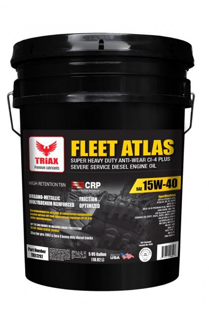 TRIAX Fleet Atlas 15W-40 - Utilaje JCB, CAT, Komatsu, Volvo