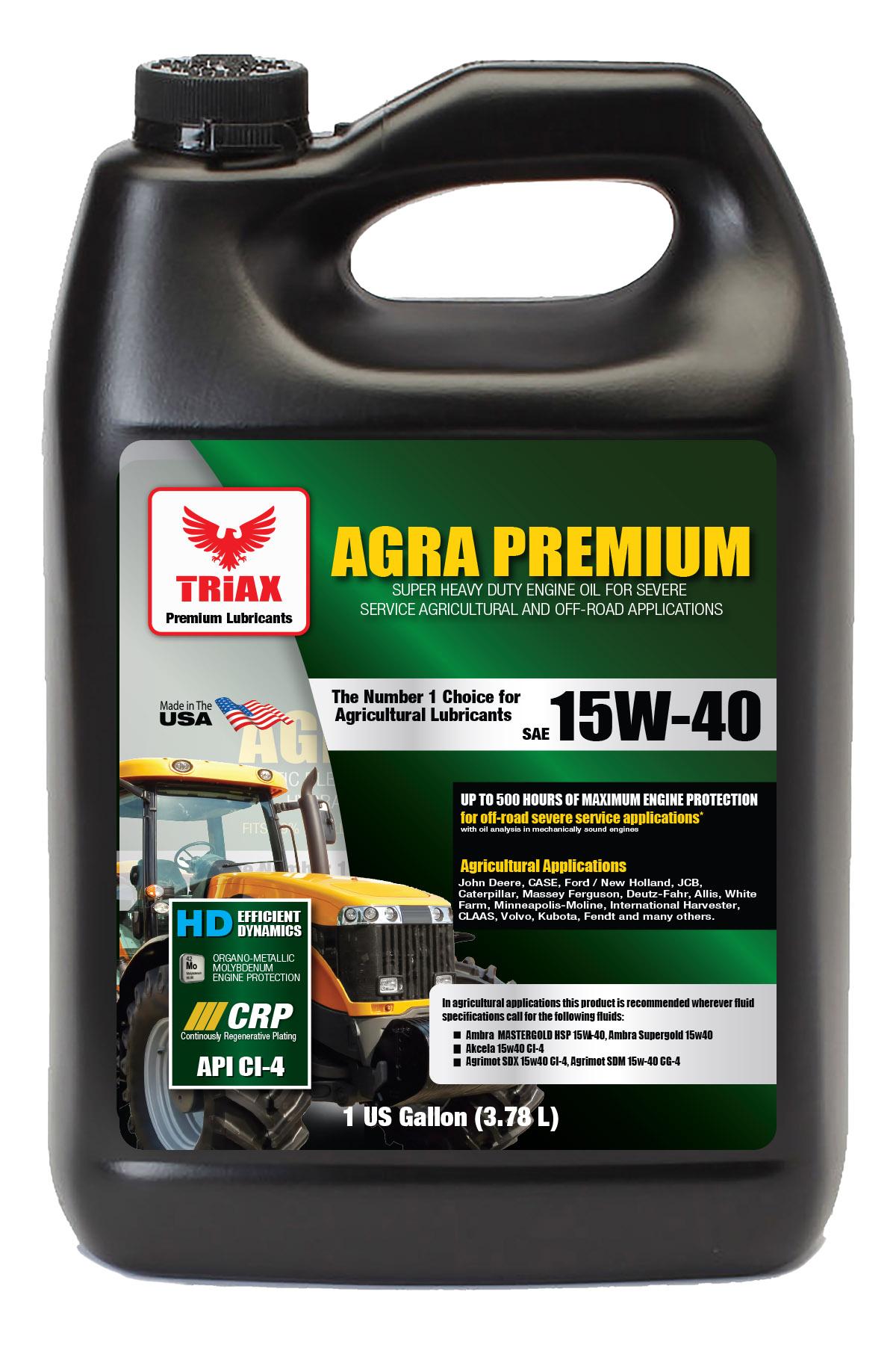 TRIAX AGRA Premium SHD 15W-40 CI-4 Plus