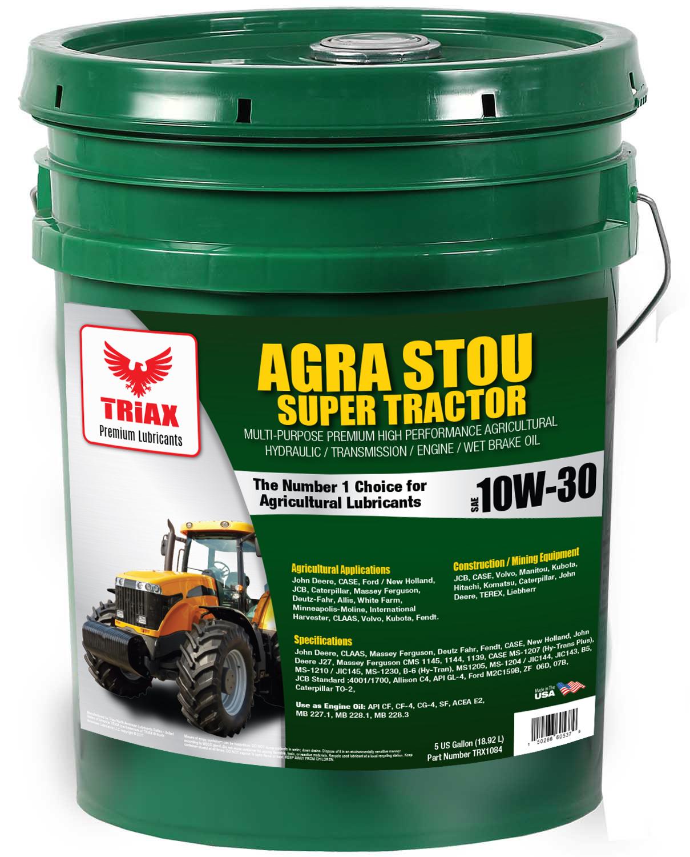 TRIAX Agra STOU 10W-30 Super Tractor (Transmisie, Hidraulic, Wet Brake)