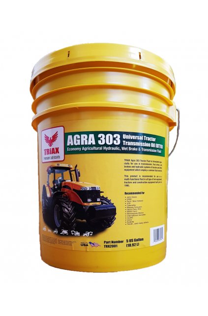 TRIAX AGRA 303 Universal Tractor Transmission Oil (UTTO)