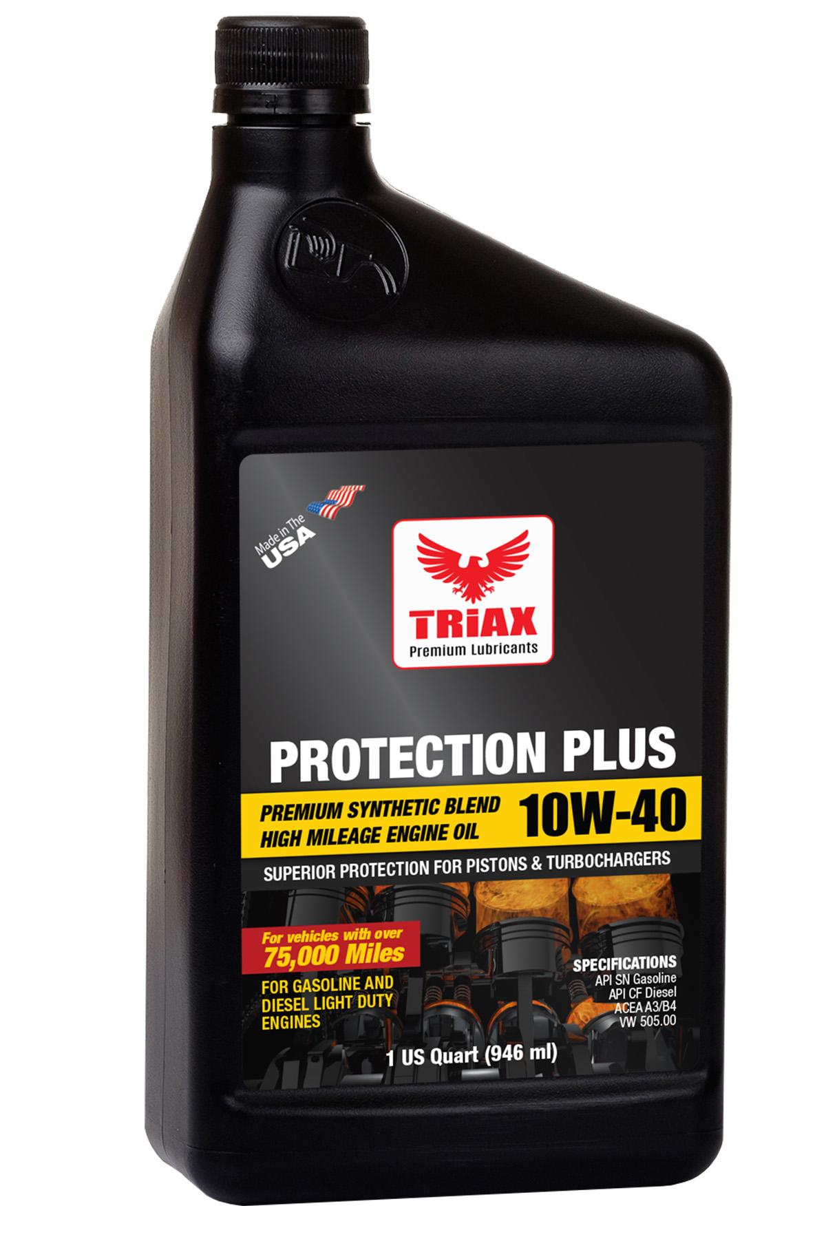 TRIAX Protection Plus 10W-40 High Mileage