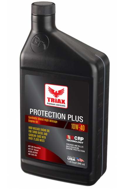 TRIAX Protection Plus 10W-40 High Mileage