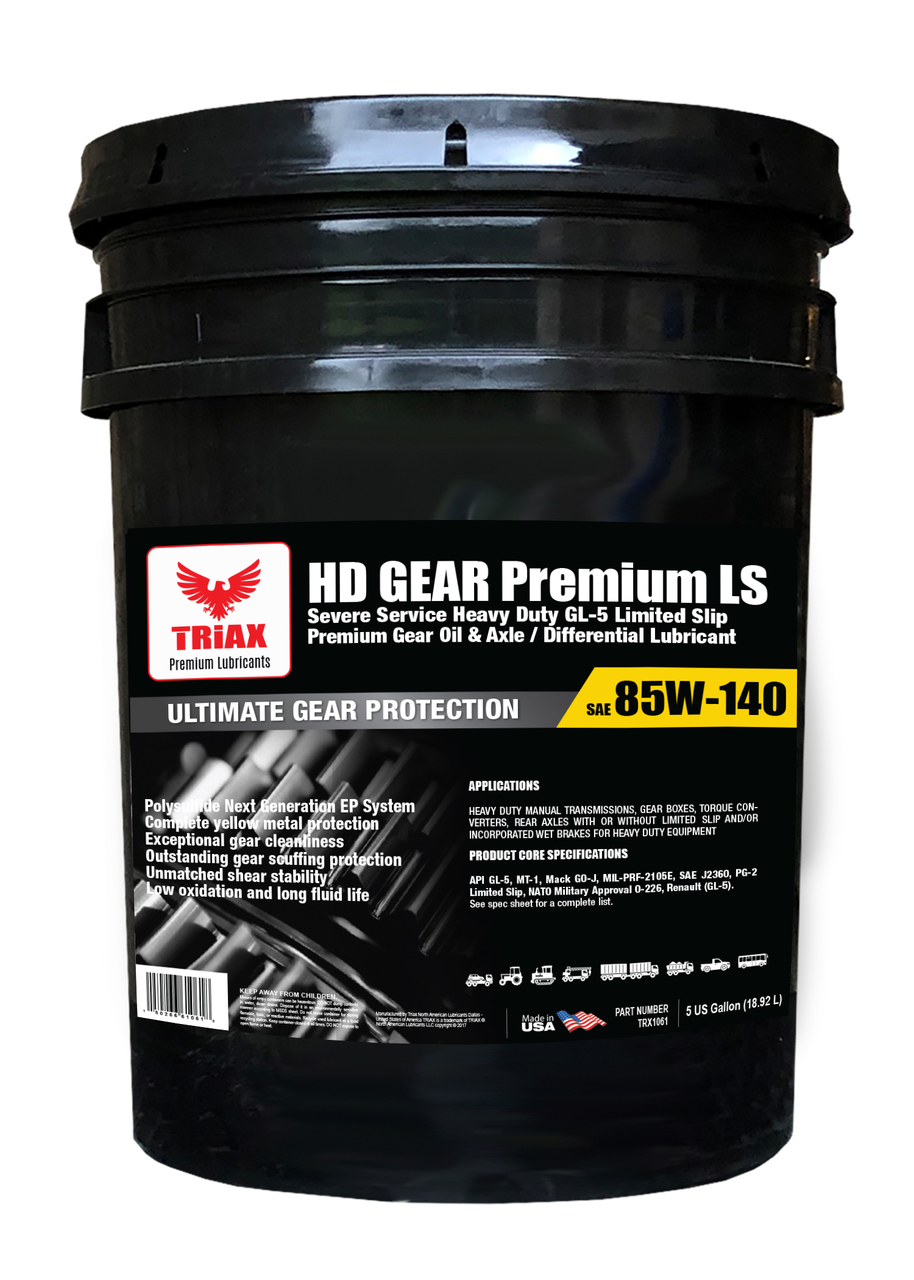 TRIAX HD Gear Premium 85W-140 GL-5 Convertizor si Diferentiale